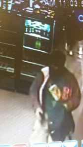 Male Suspect Bearcat Burglary